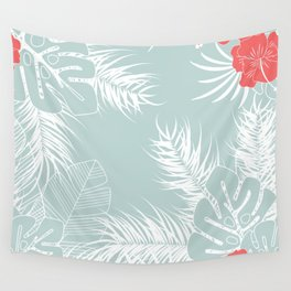 Tropical pattern 041 Wall Tapestry