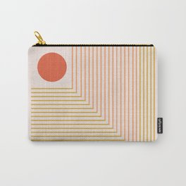 Lines & Circle 02 Carry-All Pouch