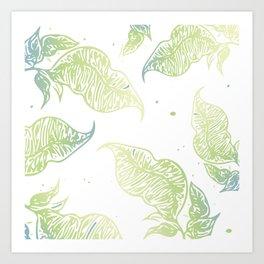Gradi Leaves pt. 2 Art Print