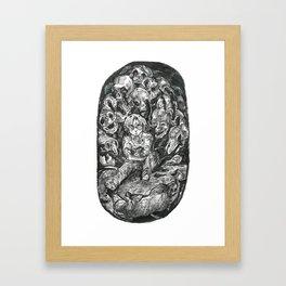 Inktober 2017: Origins Framed Art Print