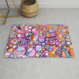 Drops and Bubbles Rug