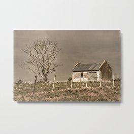 Rural Landscape Scene Metal Print