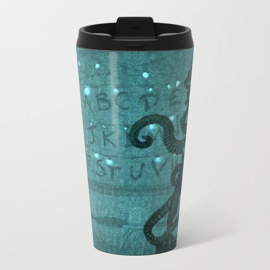 StrangerThings Metal Travel Mug