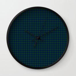 Barclay Tartan Wall Clock
