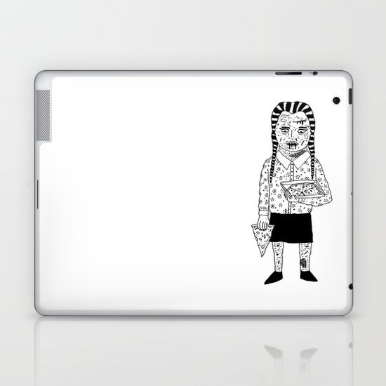 WEDNESDAY ADDAMS Laptop & iPad Skin