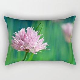 Allium pink 076 Rectangular Pillow