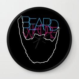 Beard Whore [ver.1] Wall Clock