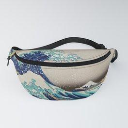 Massive Waves Japanese Art Fanny Pack