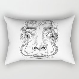 octopus dali Rectangular Pillow
