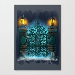 The Gate by Topher Adam 2017 Canvas Print