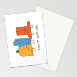 warmest greetings! Stationery Cards