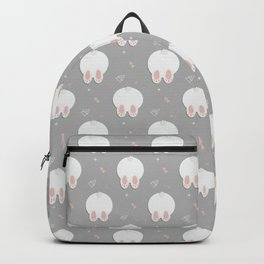 Funny Rabbit print Backpack