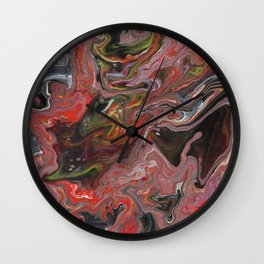 Abstract Oil Painting 29 Wall Clock