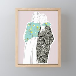 Friendship Framed Mini Art Print
