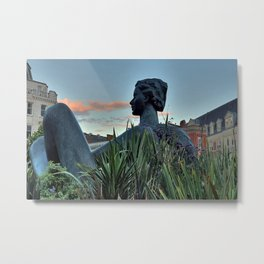 Floozie in the Jacuzzi Metal Print