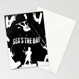 Seas The Day Kitesurfing Stationery Cards