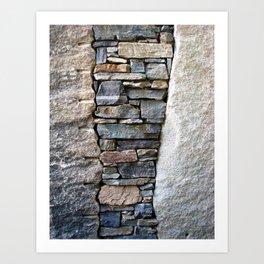 Granite Garden I Art Print