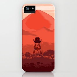 The Forest Lookout iPhone Case
