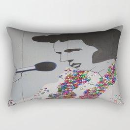 Blingy Elvis Rectangular Pillow