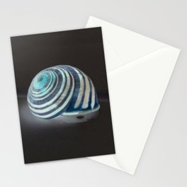 Glowing Snail Stationery Cards