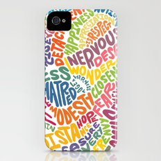 The inner workings of my mind! White! Slim Case iPhone (4, 4s)