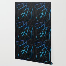 3D Futuristic GEO Lines VI Wallpaper