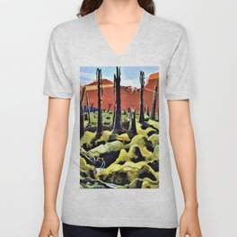 Paul Nash - We are making a new World - Digital Remastered Edition Unisex V-Neck