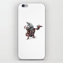 Space Alien iPhone Skin