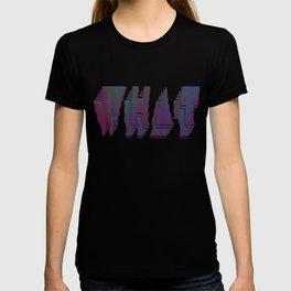 Static WHAT T-shirt