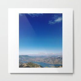 ...To These Heights Metal Print