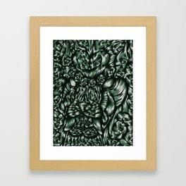 Chinese Jade Lion Framed Art Print