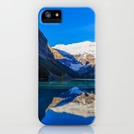 Lake Louise panorama, Canada. iPhone Case