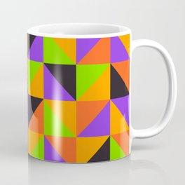 Colorful triangles pattern for Summer or Halloween Coffee Mug