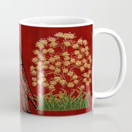 Owl Tapestry Coffee Mug