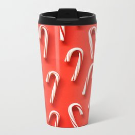 CANDY CANE Metal Travel Mug