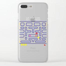 RETRO GAMER Clear iPhone Case