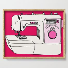 My Sewing Machine Serving Tray