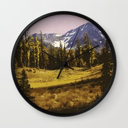 E. C. Manning Provincial Park Wall Clock