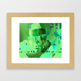 David Foster Wallace Framed Art Print