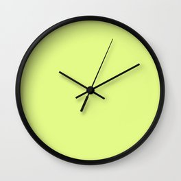 Simply Lime Wall Clock