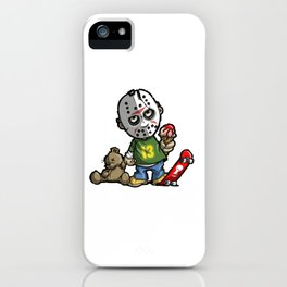 LITTLE JASON iPhone Case