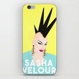 Sash Velour iPhone Skin