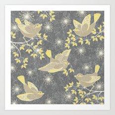 Freeflying Art Print