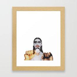 Kamp Framed Art Print