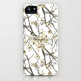 Nature Graphic Motif Pattern iPhone Case