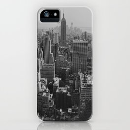 New York City Print iPhone Case