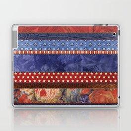Oxford Patchwork Stripe Laptop & iPad Skin