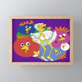 Marilyn Chicken Framed Mini Art Print