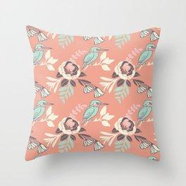Silvestre bird Throw Pillow