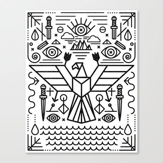 Secret Eagle Canvas Print